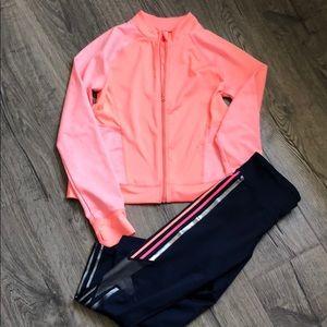 Other - Gymboree jacket and Gap capri leggings